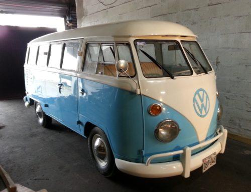 VW Bulli aus Peru