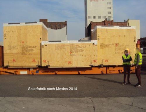 Solarfabrik Mexico 2014