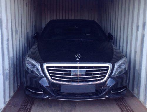 Mercedes 1 x 500S Langversion von Nürnberg nach Saudi Arabien!