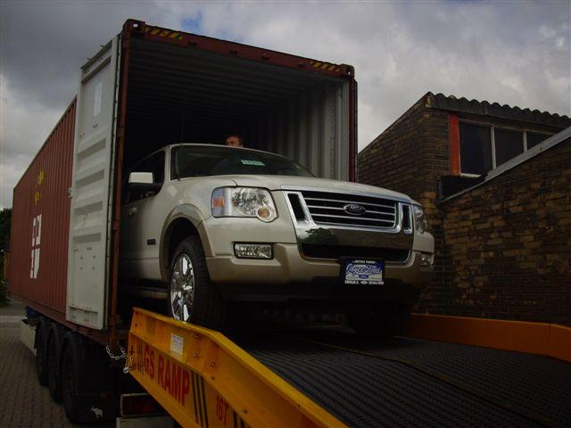 Containerentladungen der SLC-Logistic
